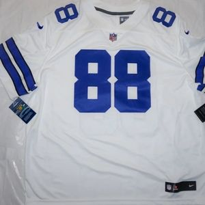 Nike Size 3XL White Authentic Dez Bryant Jersey